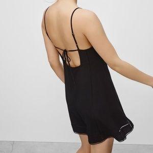 Aritzia Sunday Best Sexton Black Dress 0